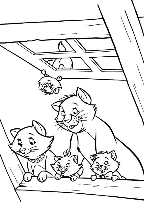Aristocats Coloring Pages