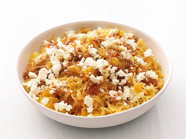Spaghetti squash with feta fnmag lets cook main dishes spaghetti squash with feta recipe food network kitchens food network forumfinder Images