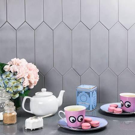 Elongated Hexagon Tile On Floor Google Search Porcelain Tile