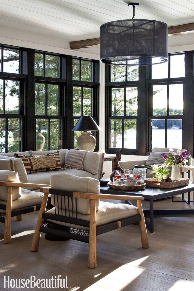 beautiful belgian style lake cottage in ontario home interior designroom also wittenberg residence platte architecture design rh pinterest