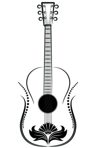 Music Instrument Tattoo Designs