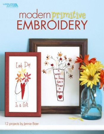 EMBROIDERY PATTERN PRIMITIVE FREE