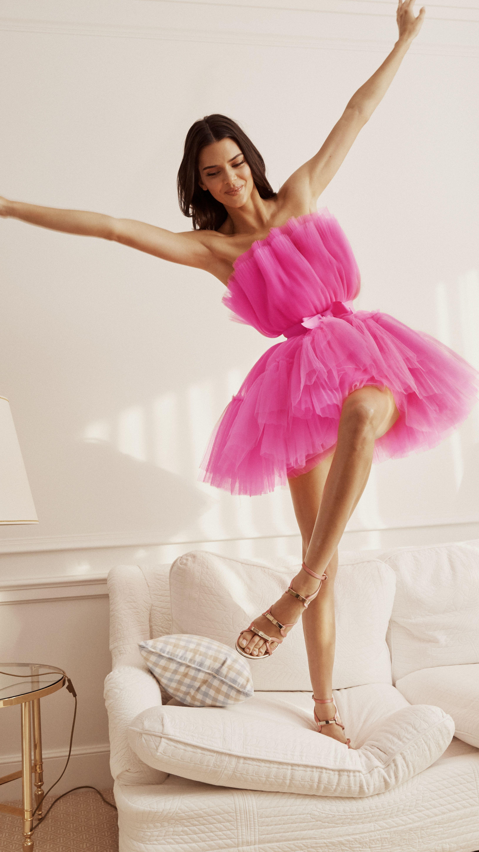 43++ Hm pink dress giambattista inspirations