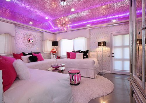 Mansion Bedrooms For Girls omg!!! do you think matt would mind if this is how i did our