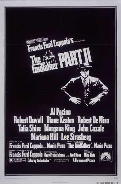 """The Godfather Part II"" Coppola Company Production; Paramount."