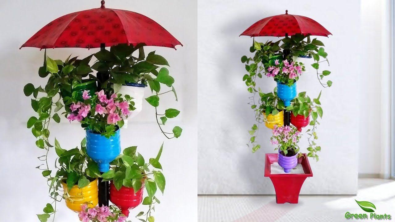ae94c7961d3bfd7c17afcee4ba68570c - Diy Plastic Bottles Hanging Flower Gardens