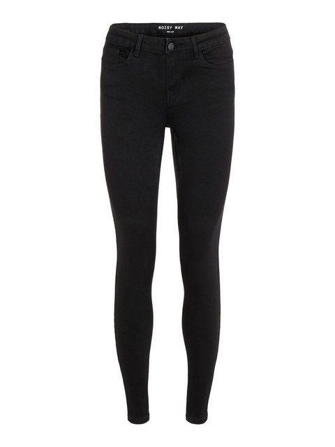 NMEVE Low Waist Skinny Fit Jeans #blackbraidedhairstyles