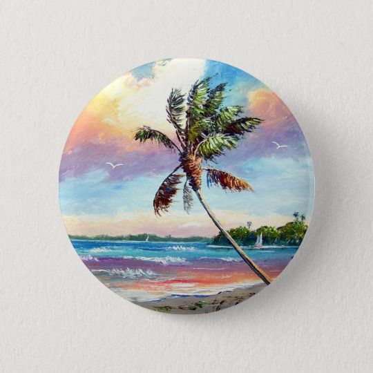Sailing the Tropics Button | Zazzle.com