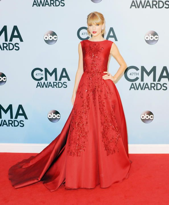 Eight awesome ways Taylor Swift wears red