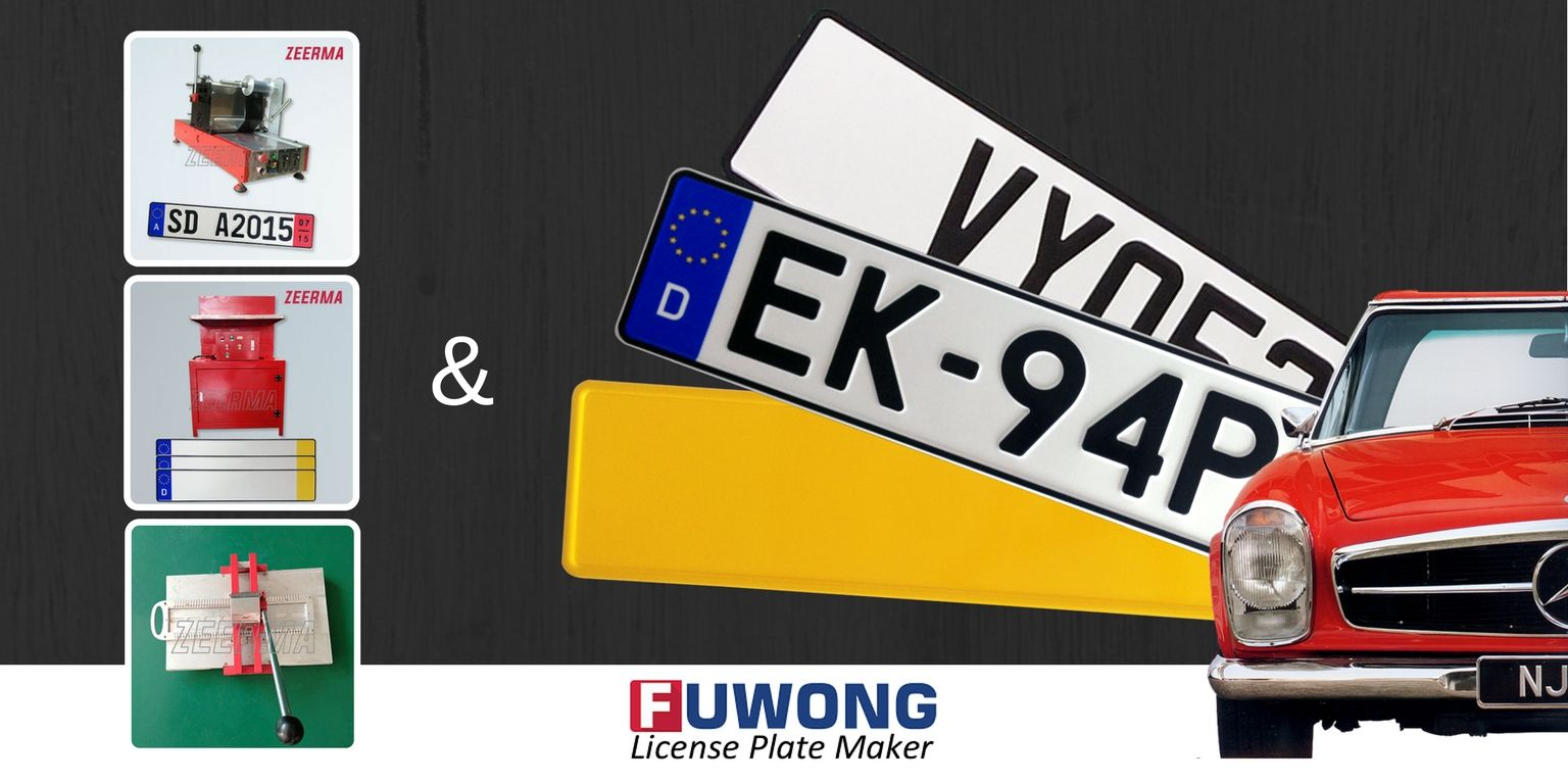 How To Start Your Show Plates Business Number Plate Machine