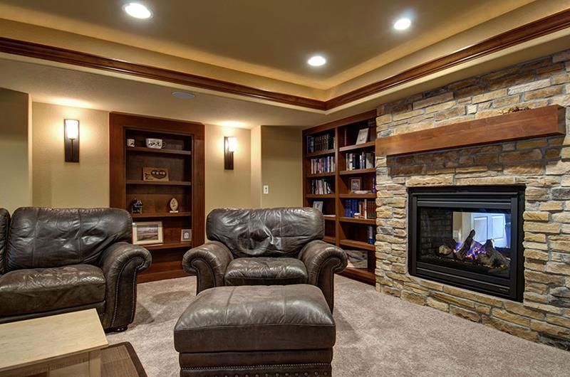 27 Luxury Finished Basement Designs Page 5 Of 5 Finished Basement Designs Basement Design Finishing Basement