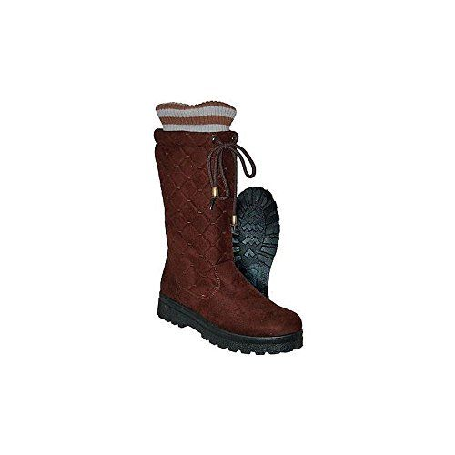 Womens Cassadee Quilted Micro Suede Winter Boot W 200G Thermo Lite Insulation * Click image for more details.