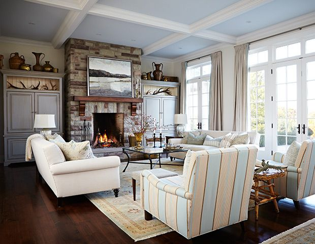 Living Room Inspiration · Get East Coast Decorating Ideas And Go Inside A  Charming New England Style House By Part 45
