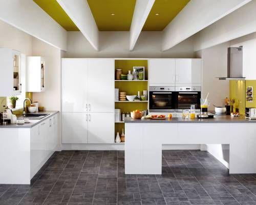 Greenwich Gloss White - Greenwich - Kitchen Families - Kitchen ...