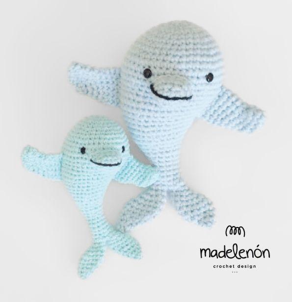 My sea amigurumi pattern by Madelenon | Flores papel, Patrón de ...