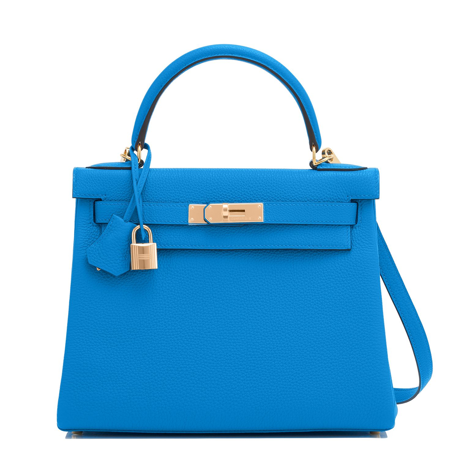 Top-Mode Brauch Bestbewertete Mode Hermes #Kelly #Bag Blue Zanzibar Togo Gold Hardware ...