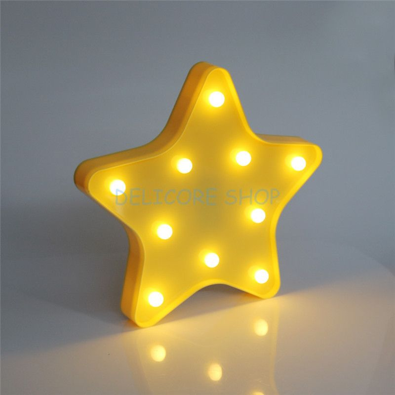 30x23 5x3cm Lovely 3d Star Night Lamp Baby Kids Girl Sleeping Light Cute Children S Day Gifts Cloud Bedroom Table Lamp 4 Colors Lamp Star Night Light Star Lamp