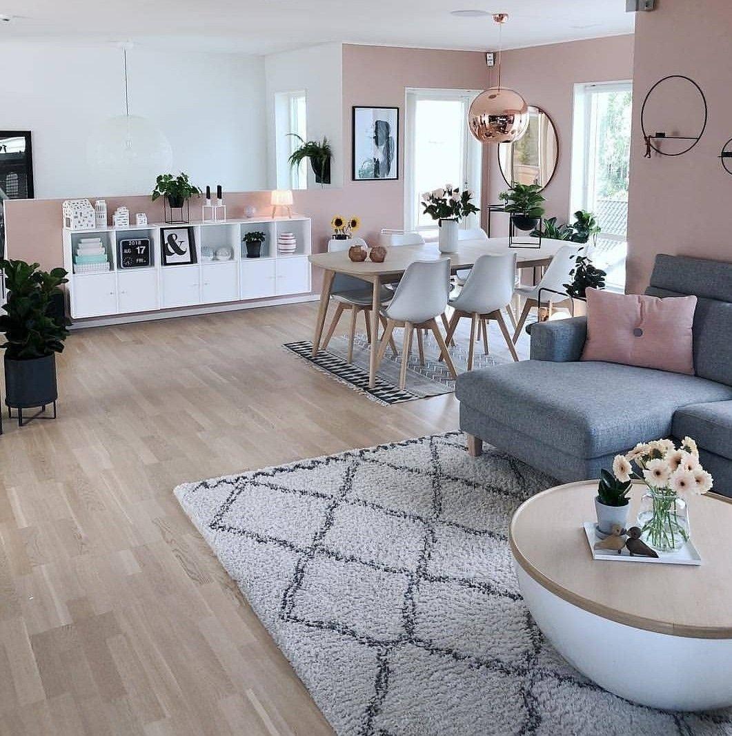 Sala #decor #rosa #cinza #rosaecinza | Deco en 2019 | Decor ...
