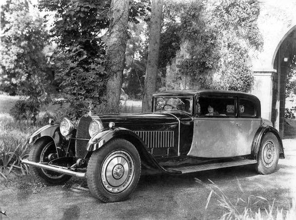 #Bugatti Type 41 Royale Coupé corps en Weymann 1929  #2017 #supercar