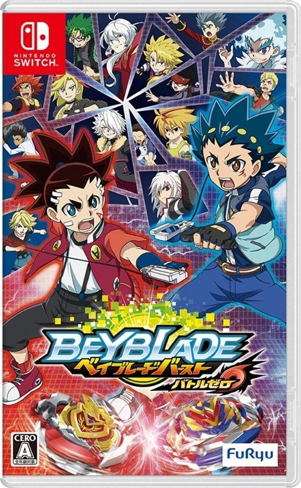 Nintendo Switch Beyblade Burst Battle Zero FuRyu Japan