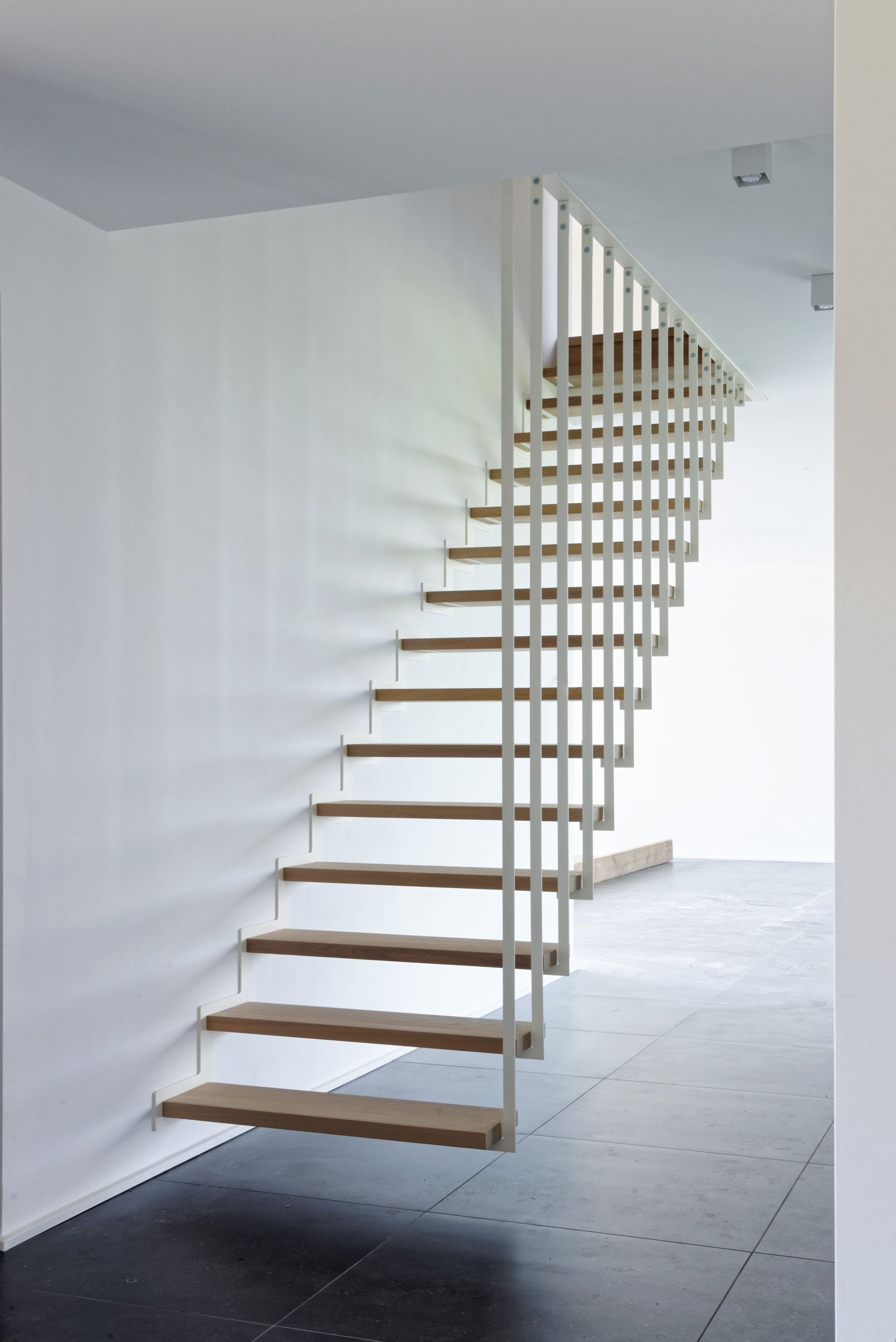 Best Jo A Up Suspended Staircase The Floating Stair In Its 400 x 300