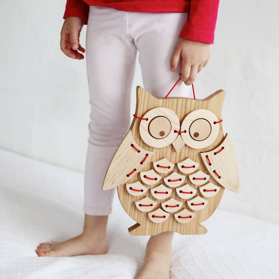 ollie birdsolid wood sewing puzzle
