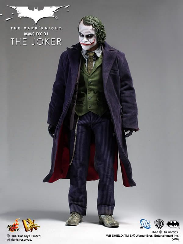 Hot Toys Dx 01 The Dark Knight The Joker Hot Toys Complete