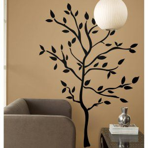 Tree Branches Peel and Stick Wall Decals | Hayneedle & Tree Branches Peel and Stick Wall Decals | Hayneedle | Adult ...