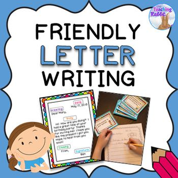 Friendly Letter Writing Activities Friendly letter, Writing paper