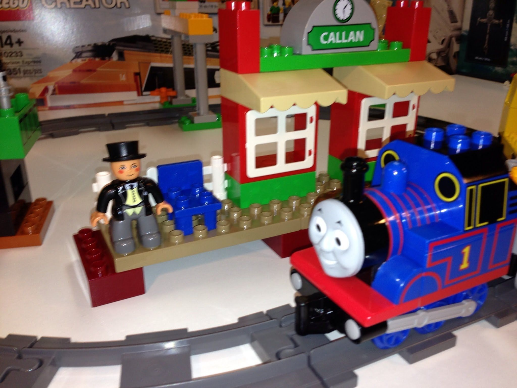 Lego Duplo Thomas The Tank Engine And Friends 5544 Starter Set Train