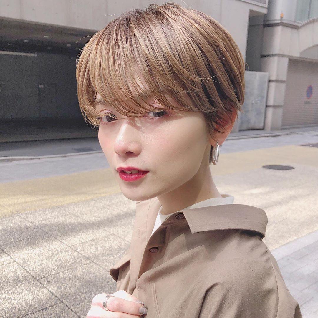 ショート ハンサムショート Kennosuke On Instagram 少し長めの前髪
