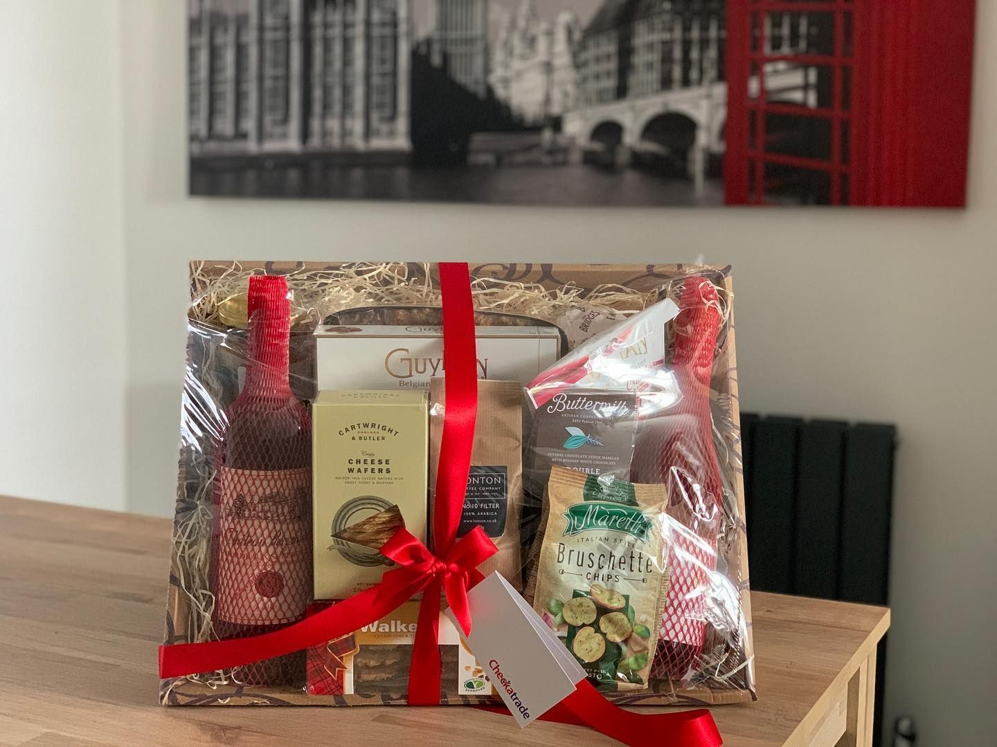 A Big Thank You To Checkatrade For The Gift It S A Very Nice Gesture And The Guys At Bselectrical Appreciate It Massively Gift In 2020 Gift Wrapping Gift S Gifts