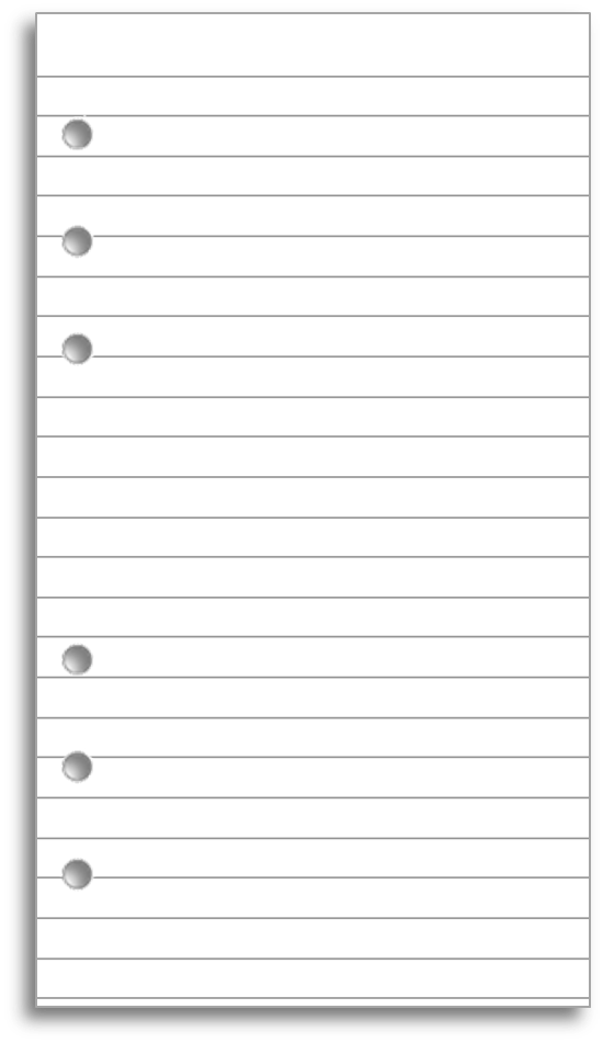 what is regular ruled paper