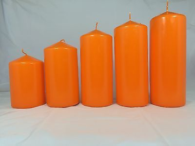 Classic #church #pillar candle #orange, View more on the LINK