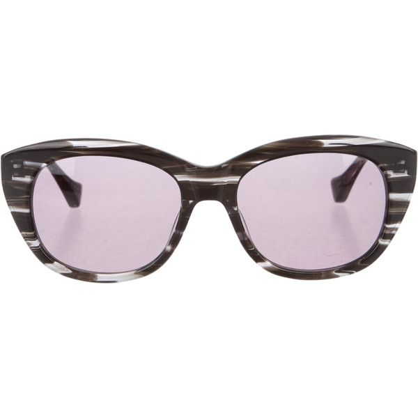 f677232f01 Pre-owned Dita Savoy Cat-Eye Sunglasses ( 175) ❤ liked on Polyvore  featuring accessories