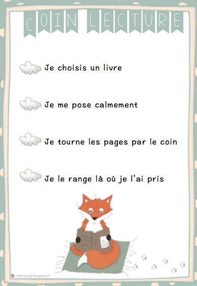 Affiche Pour Le Coin Lecture Pinteres