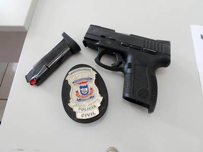 Bomba! Polícia Civil Prende Funcionário Da Prefeitura De Colniza Por Posse Ilegal De Arma De Fogo.