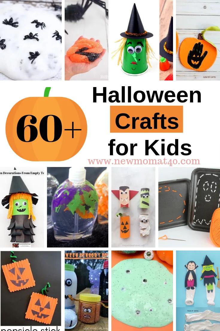 New Halloween Crafts.The Best Halloween Crafts For Kids Ever New Mom At 40 Halloween Crafts For Kids Halloween Crafts Halloween Party Craft
