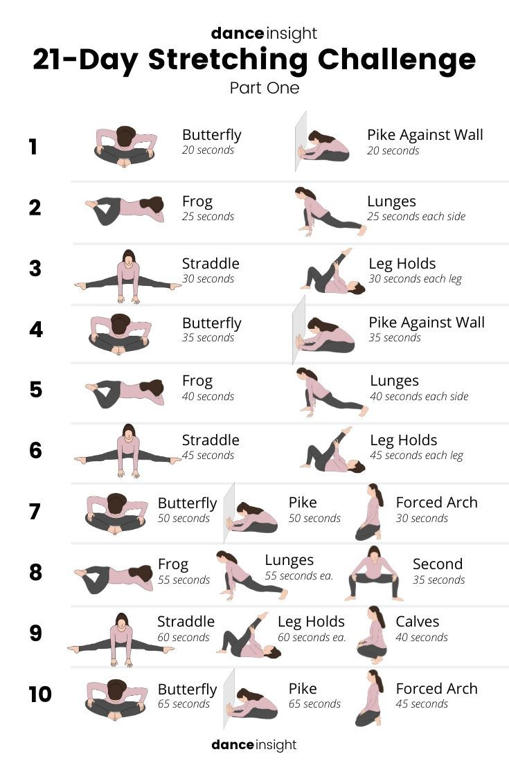21-Day Stretching Challenge (FREE Download!)