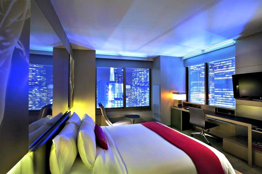 Top 20 Cool And Unusual Hotels In New York 2021 Boutique Travel Blog Times Square Hotels Unusual Hotels Times Square New York