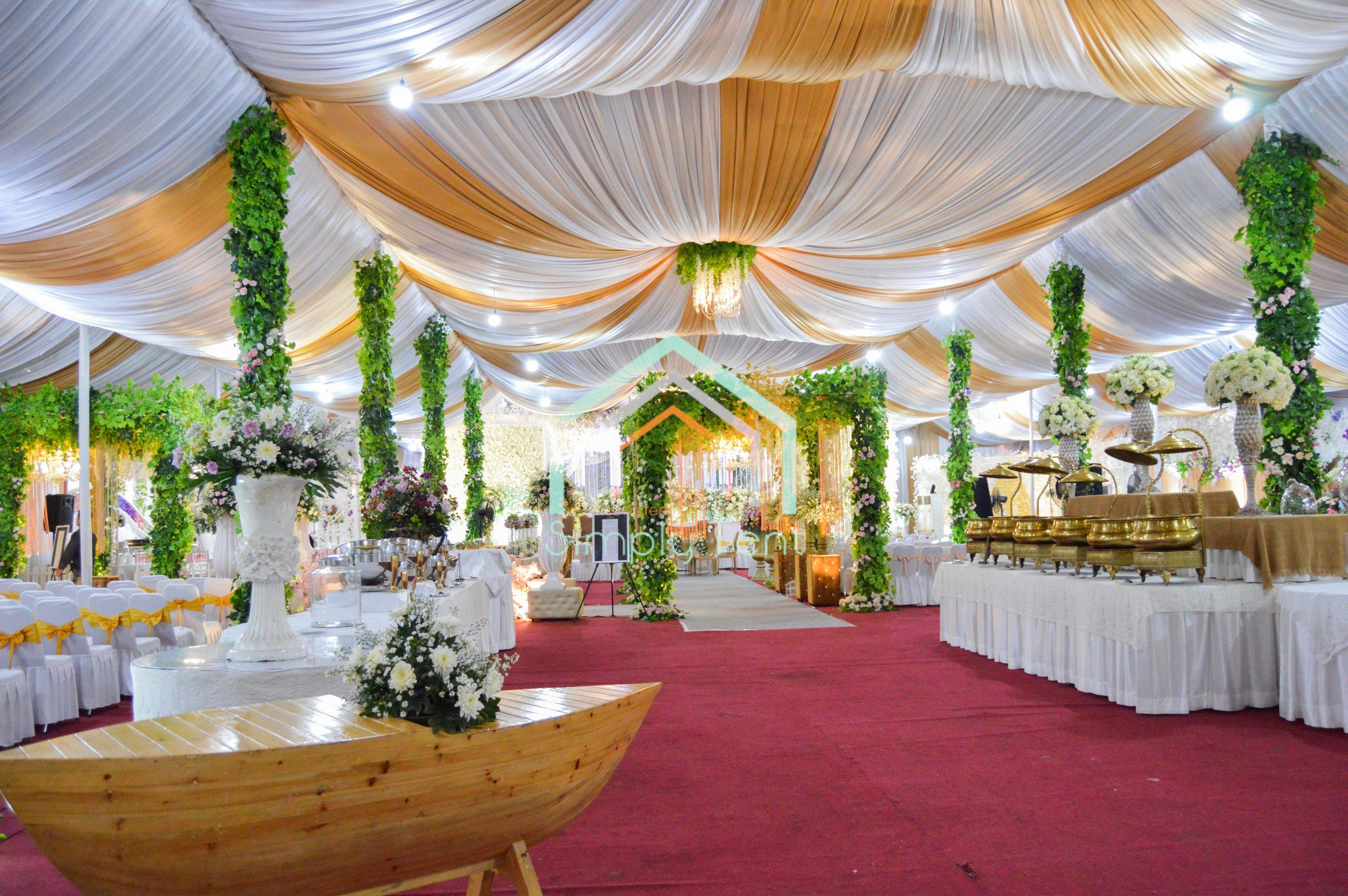 Dekorasi Meja Makan Pesta Pernikahan
