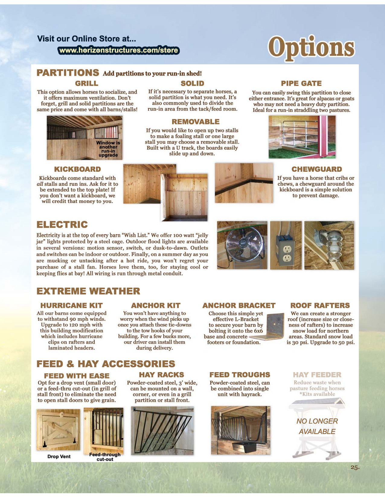 Horizon Structures The Perfect Barn Run In Shed Barn Structures