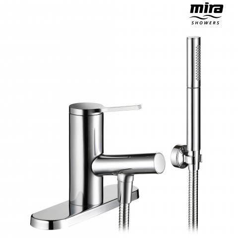 Mira Evolve Bath Shower Mixer Tap With Hand Held Head