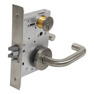 Lever Lockset Mortise Classroom By Corbin 544 01 Lever Lockset Mortise Institutional Healthcare Schools Ml2000 S Home Hardware Nickel Silver Hardware