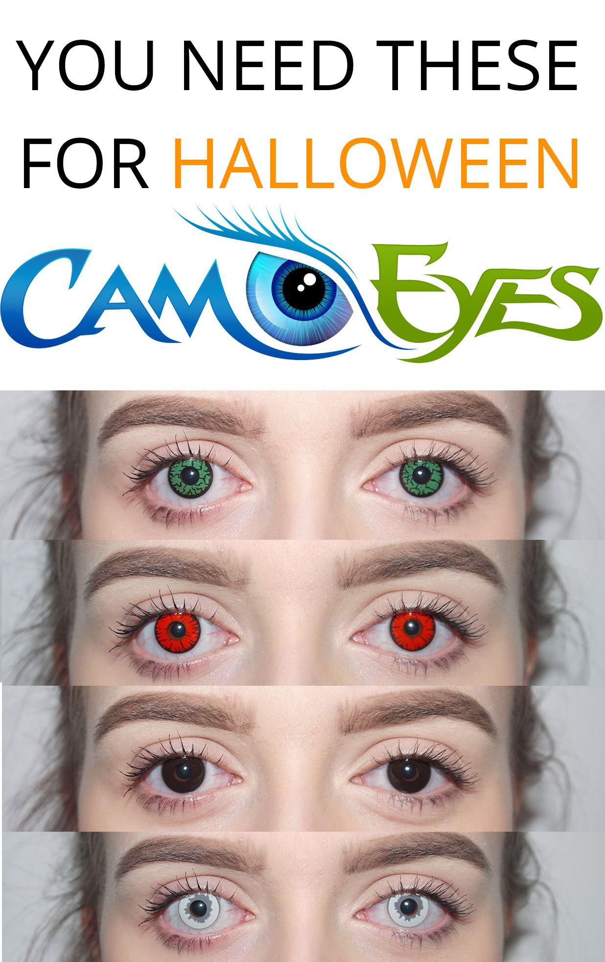 CamoEyes.com | Halloween Contact Lenses The ultimate Halloween ...