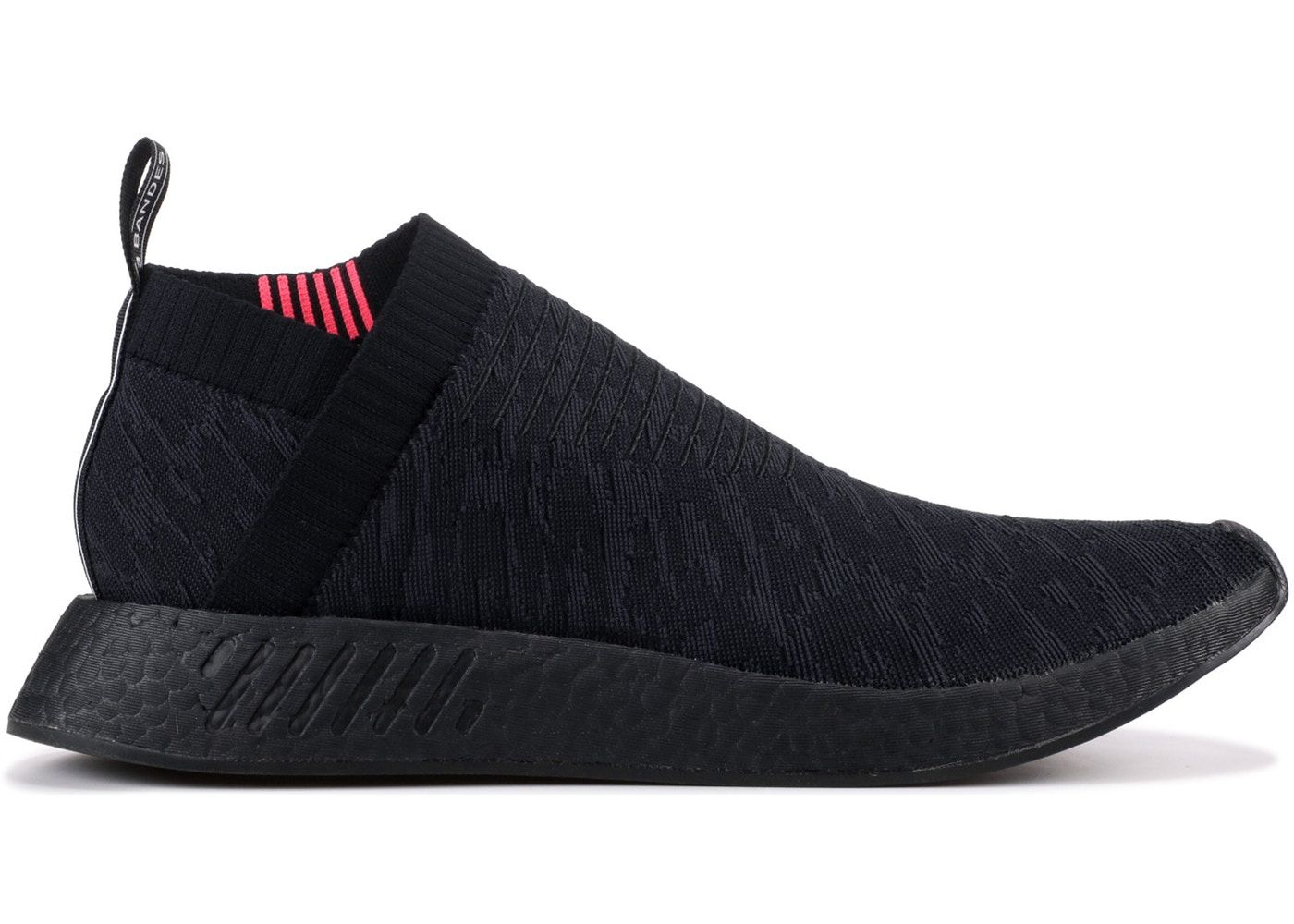 cdadabdc Check out the adidas NMD CS2 Triple Black Shock Pink available on StockX