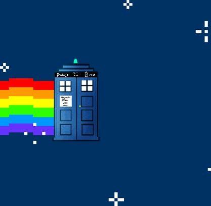 Nyan tardis