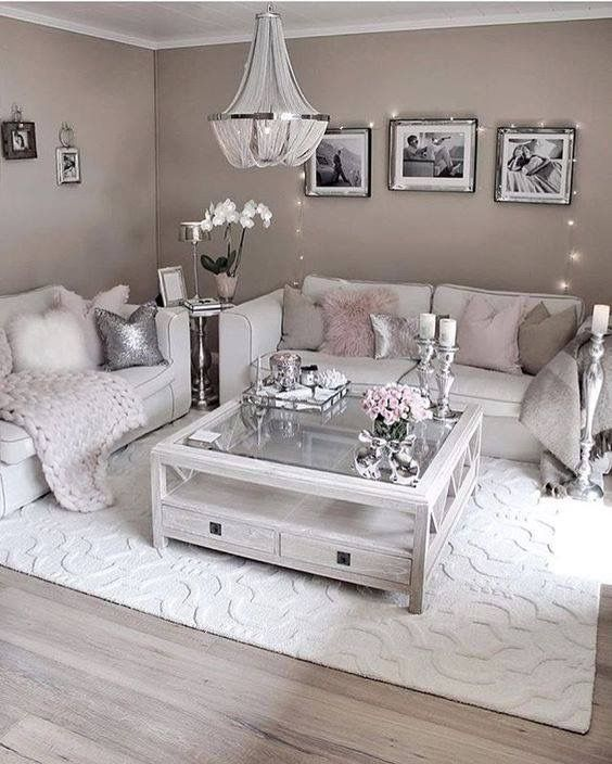 Pin On For The Home #white #and #silver #living #room