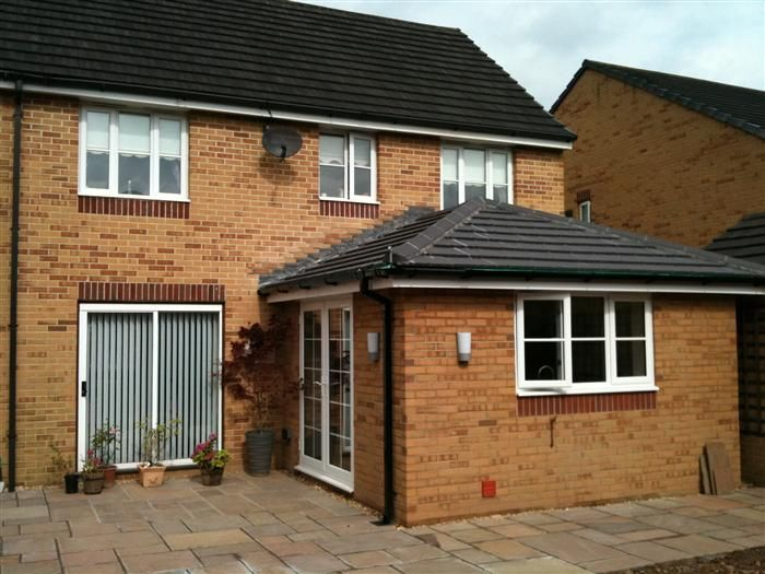 House Extensions Like This Are Achieved With The Help Of A Reputable Architect Garden Room Extensions Room Extensions Brick Extension
