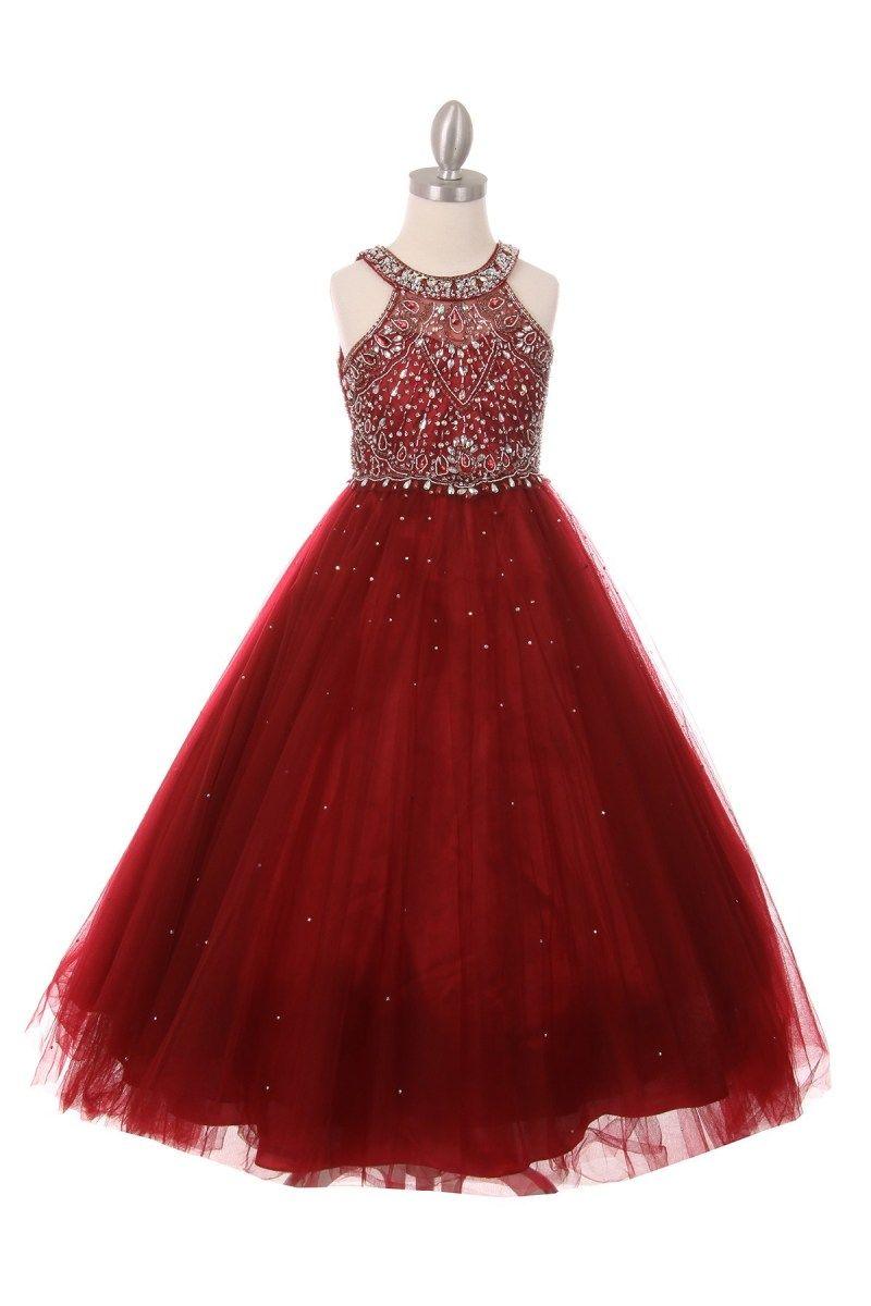Fancy Christmas dresses for girls.